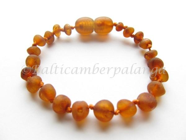 Baltic amber teething bracelet