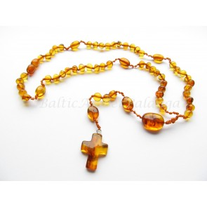 baltic amber rosary