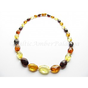 Luxury baltic amber necklace
