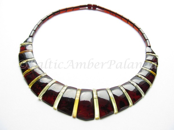 Baltic Amber Choker Cleopatra