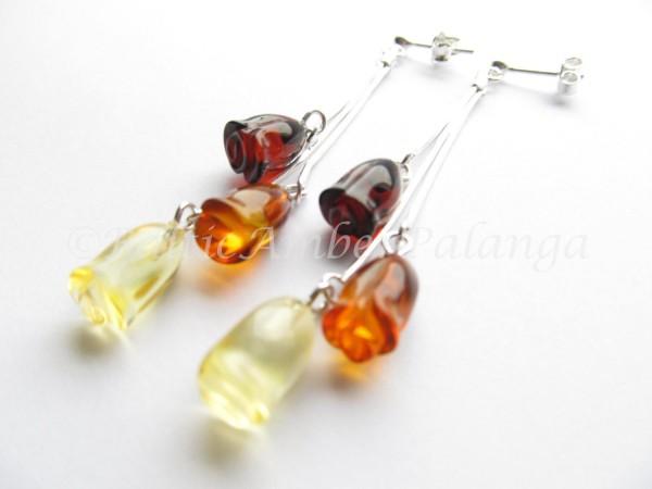 Baltic amber earrings