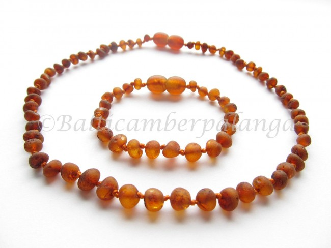 BALTIC   AMBER  BABY NECKLACES and BRACELET