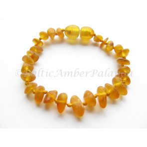 Baltic amber teething bracelet