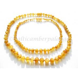baltic amber baby teething set