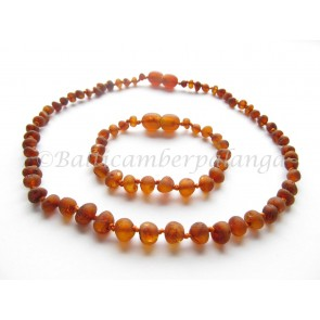 baltic amber baby teething set